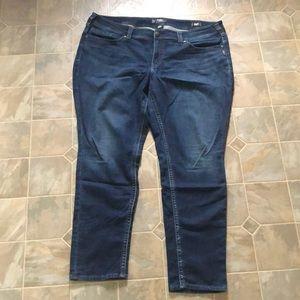 Silver Suki mid skinny Joga jeans